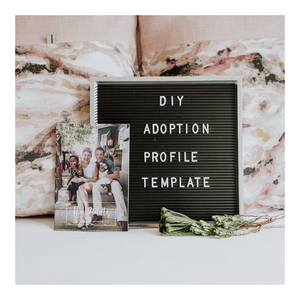 DIY Adoption Profile Template