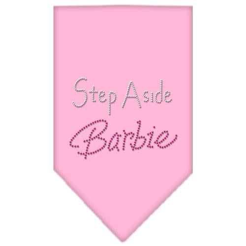 Step Aside Barbie Rhinestone Bandana Light Pink Large