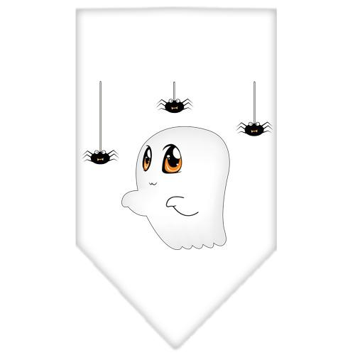 Sammy the Ghost Screen Print Bandana White Large