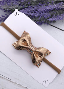 Leather Luna Bows