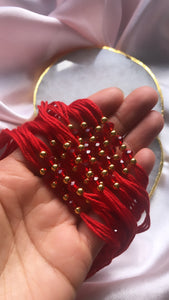 Wedding Ganneh - Ganna / Mauli Red Thread