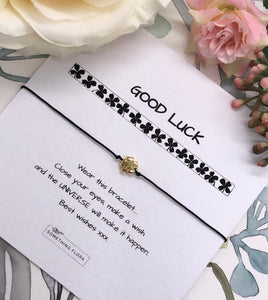 Good Luck - 4 Leaf Clover