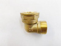 [214] Brass Male/ Female Elbow 20mm - NZ Pipe