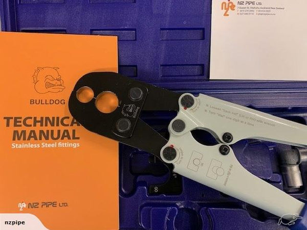 Plumbing Crimping Tool 15 and 20 MM and free fittings (free shipping) - NZ Pipe
