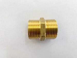 [202] Brass Nipple 20mm