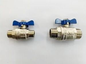[309] male + male ball valve 15mm