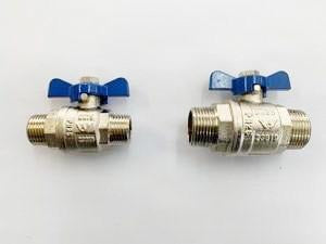 [310] Male + Mael ball valve 20mm - NZ Pipe