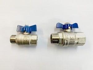 311] Male + Female ball valve 15mm - NZ Pipe