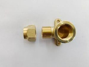 [233] Brass Female wingback copper (crox nut included 15mm) - NZ Pipe