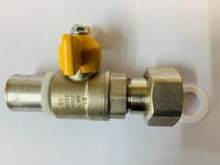 [833] Gas swivel ball valve 20mm - NZ Pipe