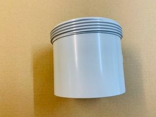 [1143] PVC waste thread end cap -100mm