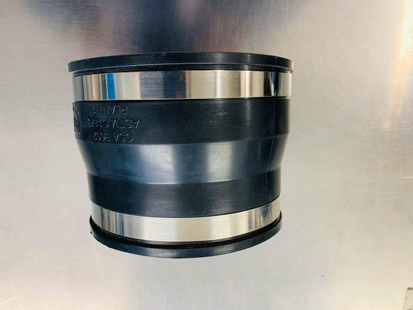 [708] 120mm - 100mm plumb quick (steel pipe to 100mm pipe) - NZ Pipe