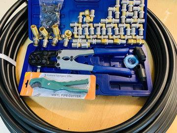 [877] Pex tool and fitting kit --- free shipping