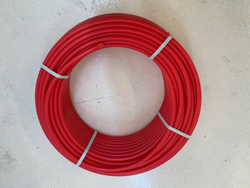 [888] Pex red water pipe 16mm- 50M