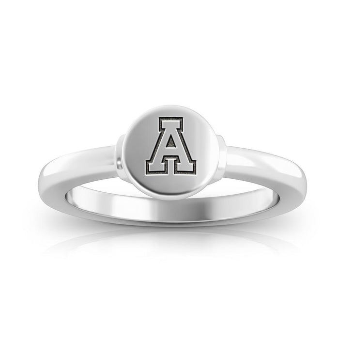 Mountaineers Logo Engraved Signet Ring Size 10