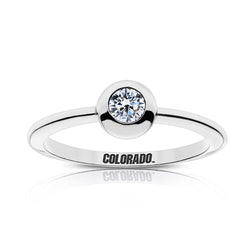Colorado Engraved Diamond Ring Size 8