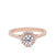 Bloom Engagement Ring in 14K Rose Gold