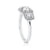 Roux Engagement Ring in 14K White Gold