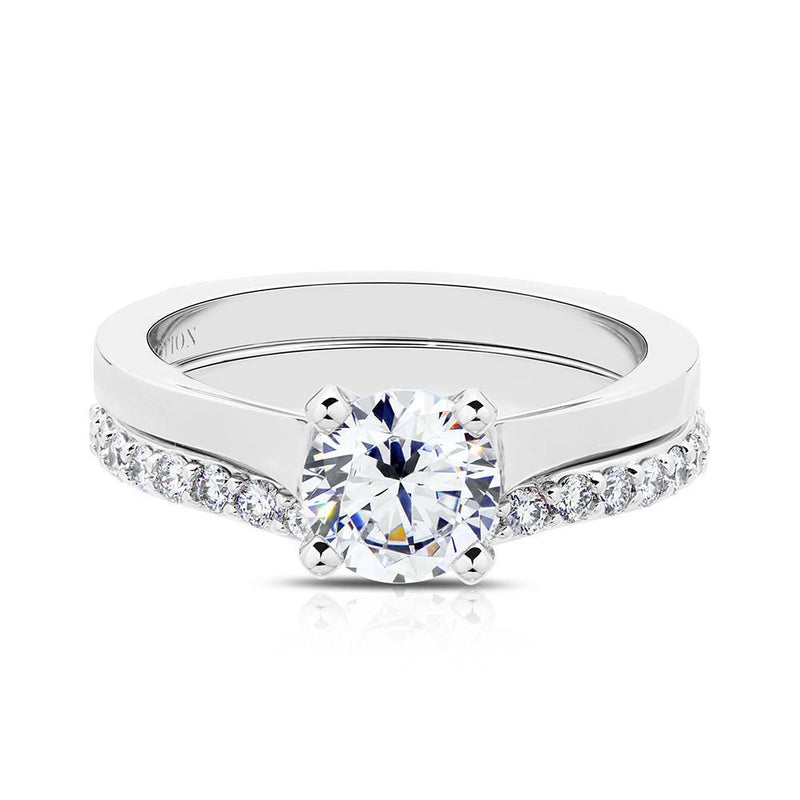 Emily Diamond Wedding Band