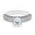 Sienna Engagement Ring in 14K White Gold