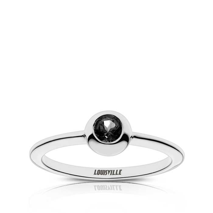 Louisville Engraved Black Onyx Ring Size 5