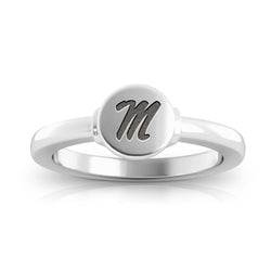 Rebels Logo Engraved Signet Ring Size 9