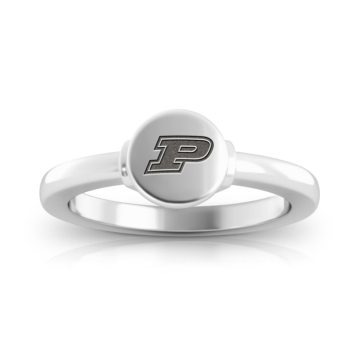 Boilermakers Logo Engraved Signet Ring Size 7
