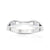 Double Diamond Stackable Ring in 14K White Gold