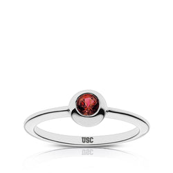 USC Engraved Ruby Ring Size 4