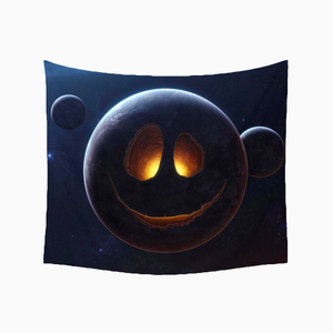 Space Face Tapestry