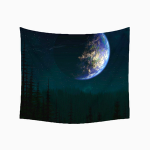 Earth Night Tapestry