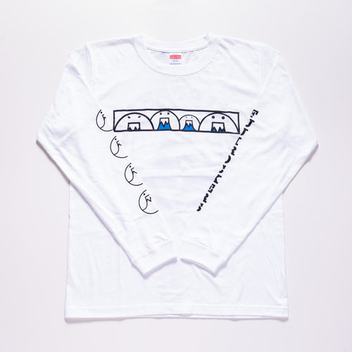 FRO LONG SLEEVE T SHIRTS (WHITE)