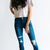 Into The Wild Double Button Distressed Kancan Skinny