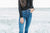Sparkle and Shine High Rise Kancan Skinnies