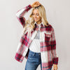 Adelaide Flannel Shirt Jacket