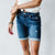 Del Mar Dark Wash Kancan Bermuda Shorts