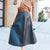 Lux Leather Skirt
