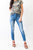 Double Rainbow Kancan Light Wash Distressed Skinny
