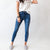 Try Again Kancan High Rise Striped Skinny