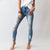 Shake Your Kancan Distressed Light Wash Skinny
