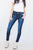 Rock Your Body Kancan Double Button Dark Wash Skinny