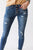 Magnetic Kancan Dark Wash Distressed Skinny