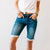 Good Times Kancan Bermuda Shorts in Dark Blue