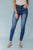 Nori High Rise Button Fly Skinny