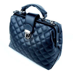 Charming Doctor Ladies PU Bag Classic Black
