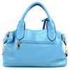 Ladies Superb Tag Crossbody PU Handbag Blue