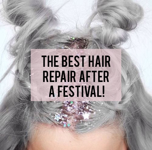 The Best Hair Repair After a Festival!