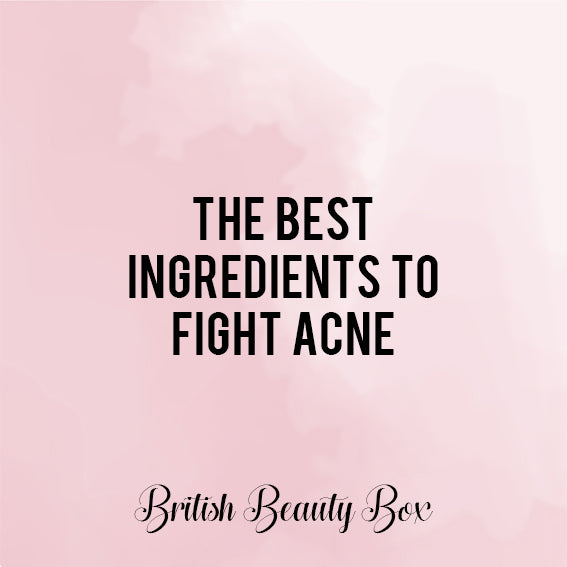 The Best Ingredients to Fight Acne