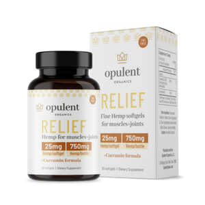 Relief Hemp Softgels