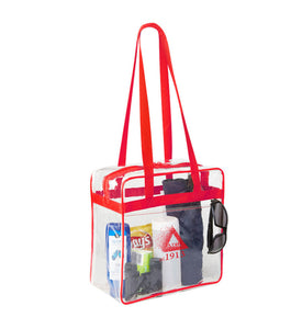 DST Zippered Game Day Tote (Stadium/NFL Approved) - UTOPIA CREATIONS | Accessories & Gifts